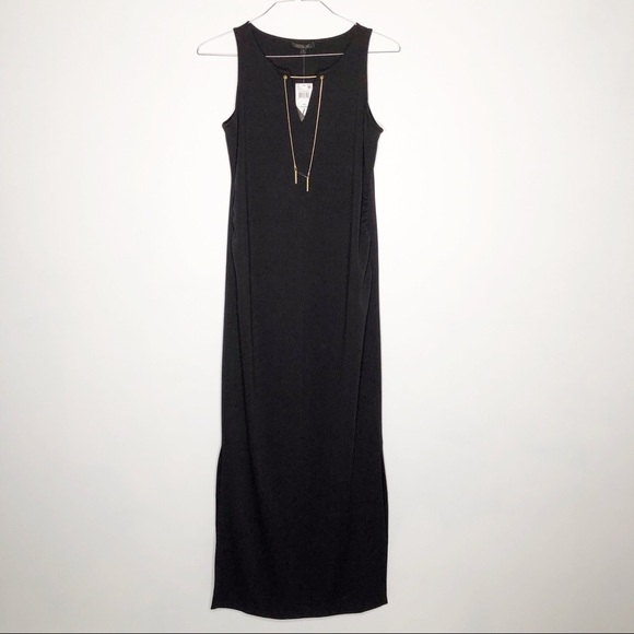 Rachel Zoe Dresses & Skirts - Rachel Zoe long black sleeveless maternity dress.